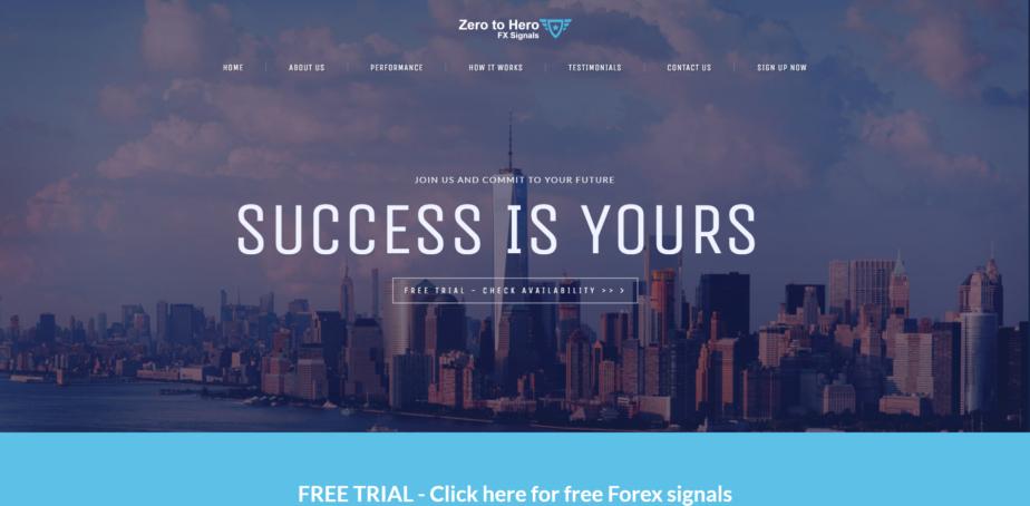 Zero to Hero Signals Review by DailyForex.com