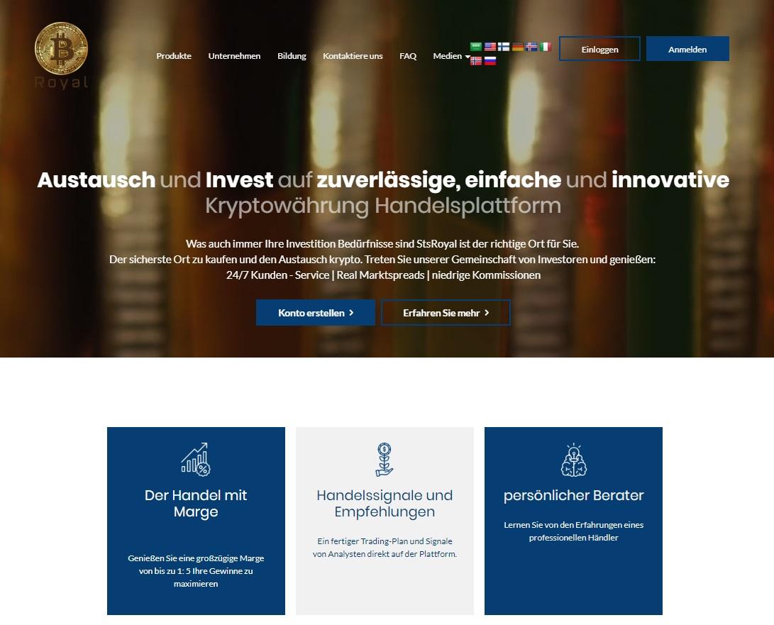 Effizientes Navigieren Im Kryptowährungshandel Mit StsRoyal