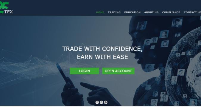 TFX25: Piattaforma Con Alcune Delle Caratteristiche Di Trading Più Impressionanti