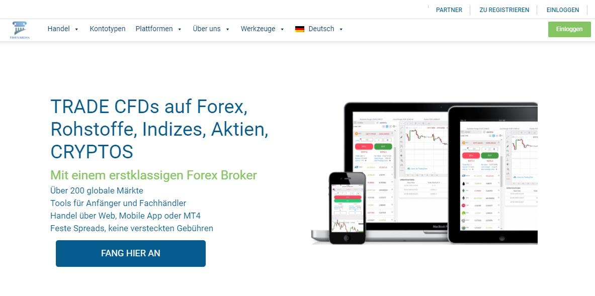 FinexArena Review – Für das Trading in verschiedenen Märkten