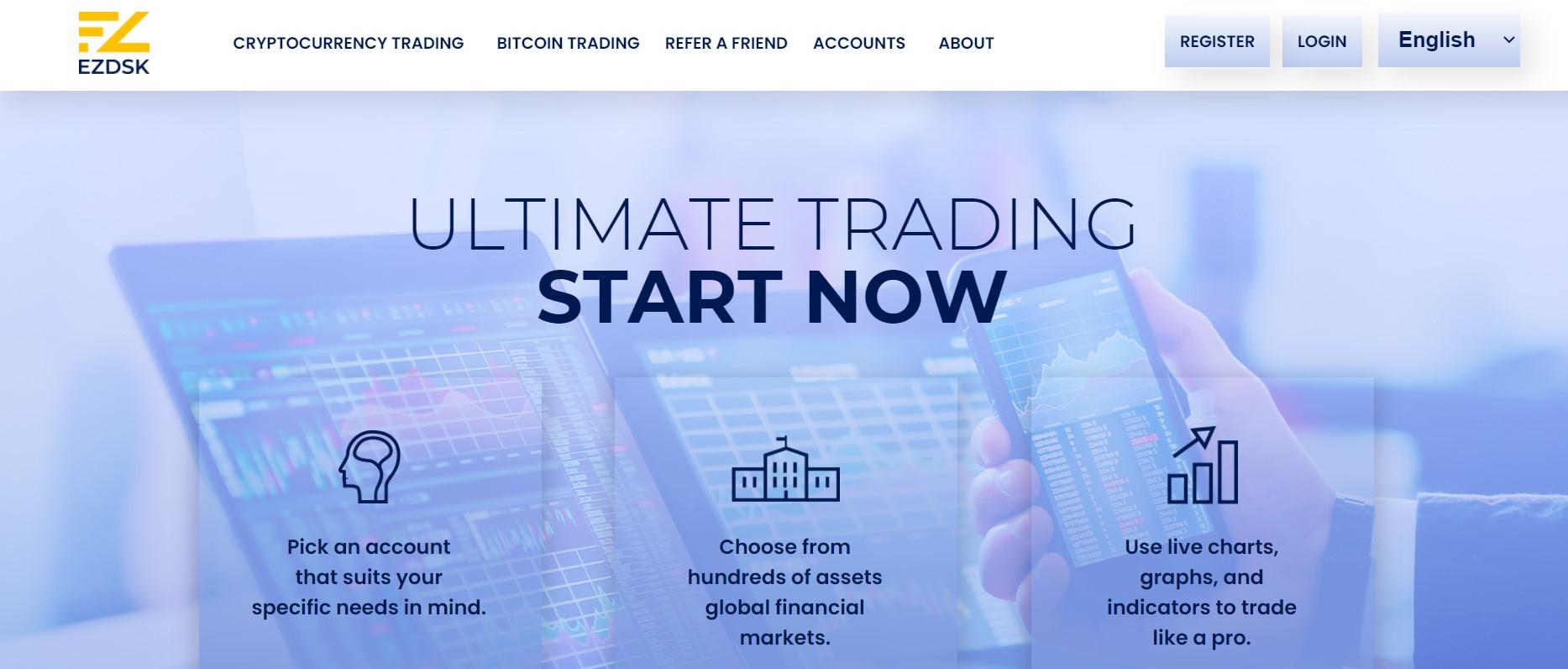 EZDSK website