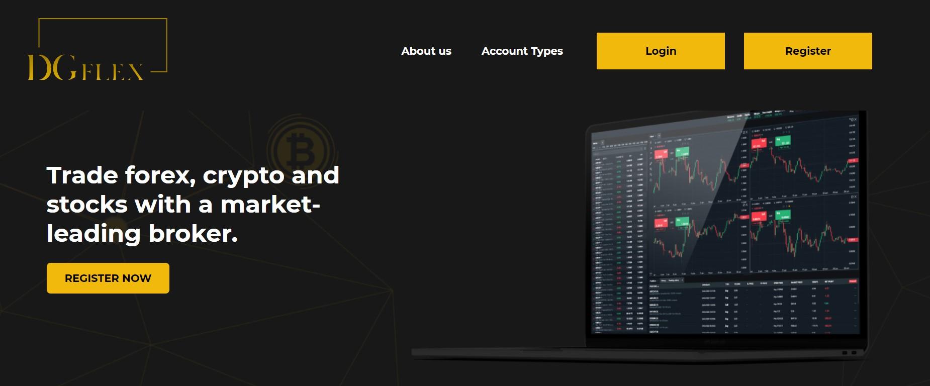 DG Flex website
